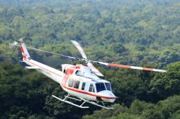 syo12さんが、鹿部飛行場で撮影した朝日航洋 412EPの航空フォト(飛行機 写真・画像)