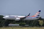 garrettさんが、トゥールーズ・ブラニャック空港で撮影したスマート・ウイングス 737-86Nの航空フォト(飛行機 写真・画像)
