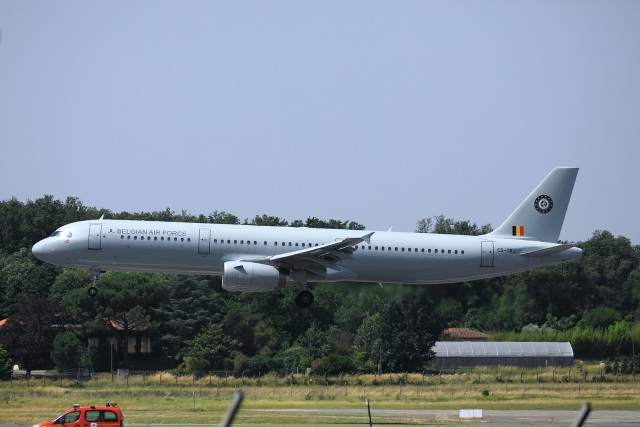 garrettさんが、トゥールーズ・ブラニャック空港で撮影したベルギー空軍 A321-231の航空フォト(飛行機 写真・画像)