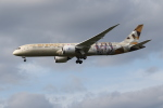 さんみさんが、ロンドン・ヒースロー空港で撮影したエティハド航空 787-9の航空フォト(写真)