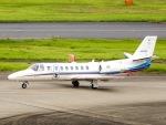 kikiさんが、羽田空港で撮影した朝日新聞社 560 Citation Encoreの航空フォト(写真)
