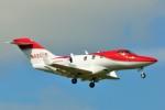 ちっとろむさんが、成田国際空港で撮影したホンダ・エアクラフト・カンパニー HA-420の航空フォト(写真)