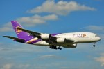 ちっとろむさんが、成田国際空港で撮影したタイ国際航空 A380-841の航空フォト(写真)