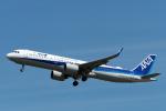 Polarisさんが、大館能代空港で撮影した全日空 A321-272Nの航空フォト(写真)