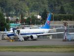 worldstar777さんが、レントン市営空港で撮影した中国南方航空 737-8-MAXの航空フォト(写真)