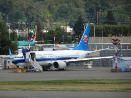 worldstarさんが、レントン市営空港で撮影した中国南方航空 737-8-MAXの航空フォト(飛行機 写真・画像)