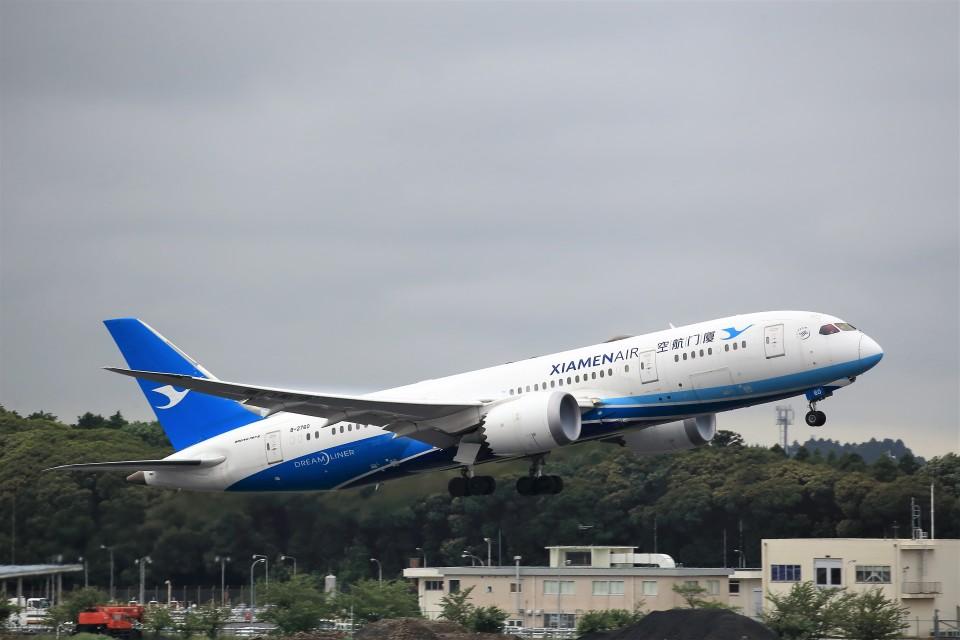 T.Sazenさんの厦門航空 Boeing 787-8 Dreamliner (B-2760) 航空フォト