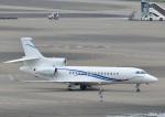 じーく。さんが、羽田空港で撮影したグローバル・ジェット・ルクセンブルク Falcon 8Xの航空フォト(飛行機 写真・画像)