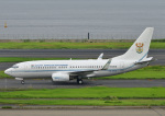 じーく。さんが、羽田空港で撮影した南アフリカ空軍 737-7ED BBJの航空フォト(写真)