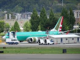 worldstarさんが、レントン市営空港で撮影したスパイスジェット 737-8-MAXの航空フォト(飛行機 写真・画像)