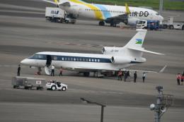 シュウさんが、羽田空港で撮影したジブチ共和国政府 Falcon 7Xの航空フォト(飛行機 写真・画像)