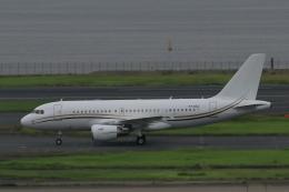 トマトさんが、羽田空港で撮影したコムラックス・マルタ A319-115X CJの航空フォト(飛行機 写真・画像)