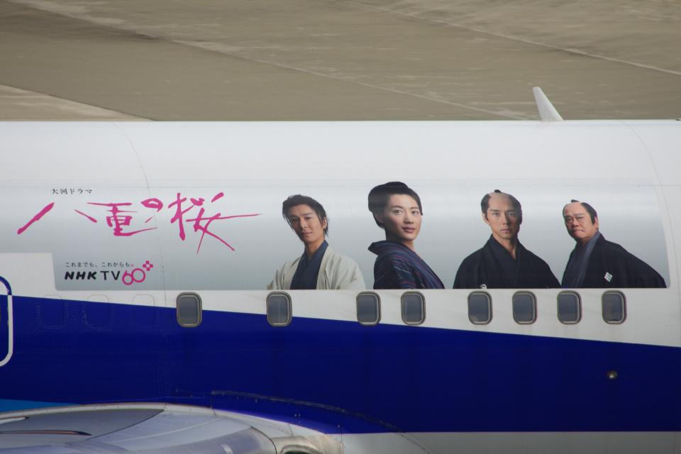 yabyanさんの全日空 Boeing 767-300 (JA8677) 航空フォト