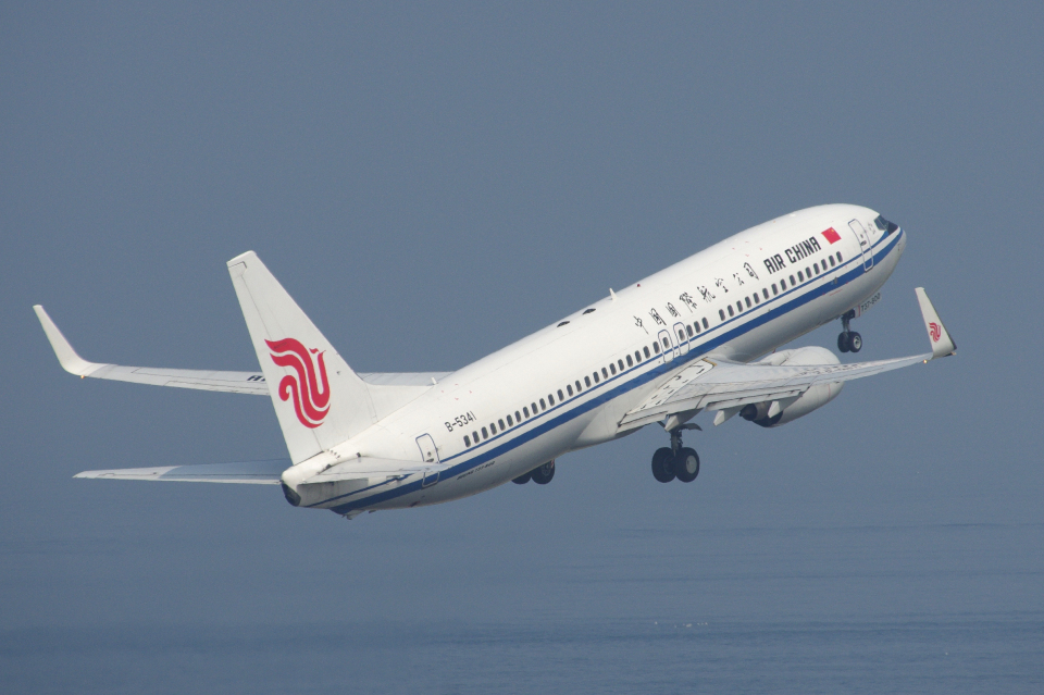 yabyanさんの中国国際航空 Boeing 737-800 (B-5341) 航空フォト