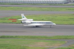 tasho0525さんが、羽田空港で撮影したジブチ共和国政府 Falcon 7Xの航空フォト(飛行機 写真・画像)