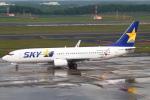 セブンさんが、新千歳空港で撮影したスカイマーク 737-8FZの航空フォト(写真)