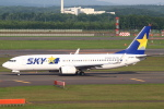セブンさんが、新千歳空港で撮影したスカイマーク 737-8HXの航空フォト(飛行機 写真・画像)