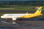 セブンさんが、新千歳空港で撮影したバニラエア A320-214の航空フォト(飛行機 写真・画像)