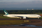 セブンさんが、新千歳空港で撮影したキャセイパシフィック航空 777-367の航空フォト(飛行機 写真・画像)