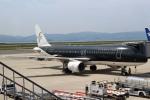 セブンさんが、関西国際空港で撮影したスターフライヤー A320-214の航空フォト(写真)