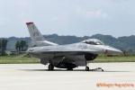 湖景さんが、松島基地で撮影したアメリカ空軍 F-16CM-50-CF Fighting Falconの航空フォト(写真)