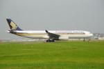 アングリー J バードさんが、福岡空港で撮影したシンガポール航空 A330-343Xの航空フォト(写真)