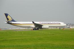 アングリー J バードさんが、福岡空港で撮影したシンガポール航空 A330-343Xの航空フォト(飛行機 写真・画像)