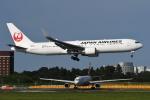 tassさんが、成田国際空港で撮影した日本航空 767-346/ERの航空フォト(飛行機 写真・画像)