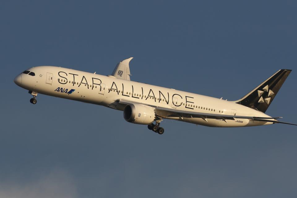 多摩川崎2Kさんの全日空 Boeing 787-9 (JA899A) 航空フォト