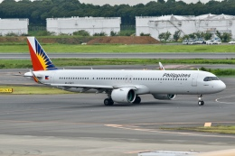 キハ28さんが、成田国際空港で撮影したフィリピン航空 A321-271NXの航空フォト(飛行機 写真・画像)
