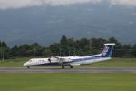 ジャンクさんが、鹿児島空港で撮影したANAウイングス DHC-8-402Q Dash 8の航空フォト(写真)