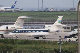 スポット110さんが、羽田空港で撮影したジブチ共和国政府 Falcon 7Xの航空フォト(飛行機 写真・画像)