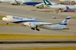 JRF spotterさんが、香港国際空港で撮影したエル・アル航空 787-9の航空フォト(写真)