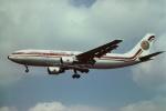 tassさんが、ロンドン・ヒースロー空港で撮影したエジプト航空 A300B4-622Rの航空フォト(飛行機 写真・画像)