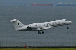 キハ28さんが、羽田空港で撮影したアルジェリア政府 G-IV Gulfstream IVの航空フォト(飛行機 写真・画像)