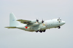 ちゃぽんさんが、岩国空港で撮影した海上自衛隊 C-130Rの航空フォト(飛行機 写真・画像)