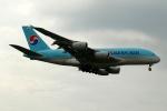 採れたてほしいもさんが、ロンドン・ヒースロー空港で撮影した大韓航空 A380-861の航空フォト(写真)
