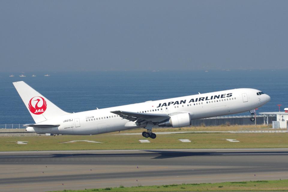 yabyanさんの日本航空 Boeing 767-300 (JA615J) 航空フォト