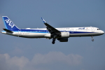 jun☆さんが、成田国際空港で撮影した全日空 A321-272Nの航空フォト(写真)