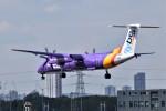 k-spotterさんが、ロンドン・シティ空港で撮影したフライビー DHC-8-402Q Dash 8の航空フォト(写真)