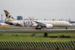 xingyeさんが、成田国際空港で撮影したエティハド航空 787-9の航空フォト(写真)