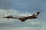 tassさんが、ロンドン・ヒースロー空港で撮影したLOTポーランド航空 Tu-154Mの航空フォト(飛行機 写真・画像)