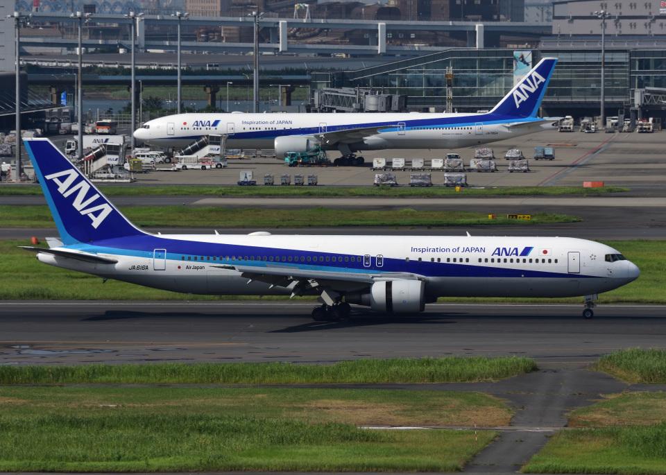 bluesky05さんの全日空 Boeing 767-300 (JA616A) 航空フォト