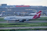 kamerajiijiさんが、羽田空港で撮影したカンタス航空 747-438の航空フォト(飛行機 写真・画像)