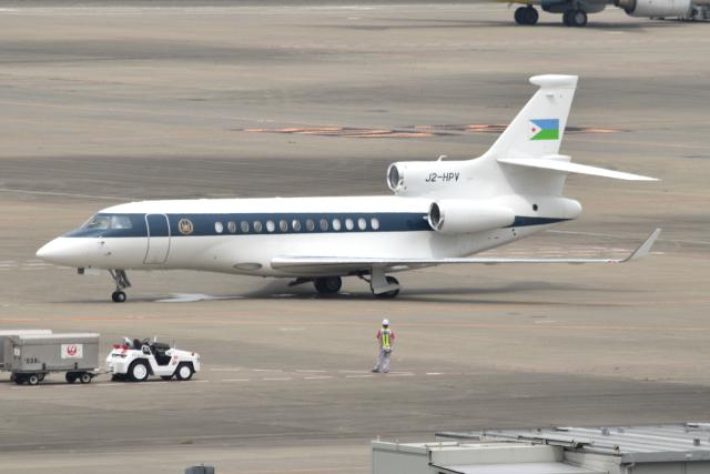 Tango-4さんが、羽田空港で撮影したジブチ共和国政府 Falcon 7Xの航空フォト(飛行機 写真・画像)