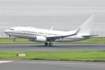 Tango-4さんが、羽田空港で撮影したロイヤル・ジェット 737-77W BBJの航空フォト(写真)