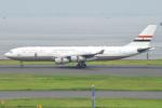 Tango-4さんが、羽田空港で撮影したエジプト政府 A340-211の航空フォト(写真)