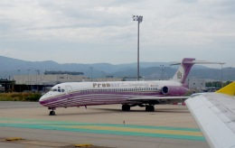 Harry Lennonさんが、バルセロナ空港で撮影したプロンエア MD-87 (DC-9-87)の航空フォト(飛行機 写真・画像)