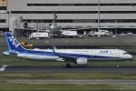 B747‐400さんが、羽田空港で撮影した全日空 A321-272Nの航空フォト(写真)