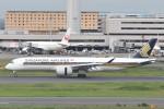 B747‐400さんが、羽田空港で撮影したシンガポール航空 A350-941XWBの航空フォト(写真)